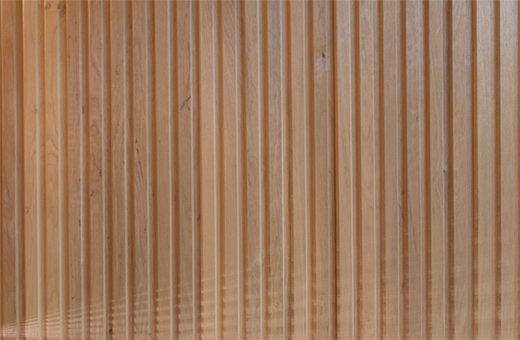 Erle Saunaholz: Profilholz in der Sauna Innenverkleidung